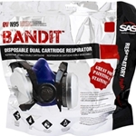 SAS Bandit Disposable half Face Mask (Medium)