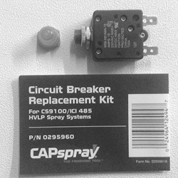 Capspray Circuit Breaker for 9100